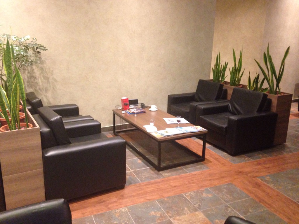 Quito Airport Layover - Seating