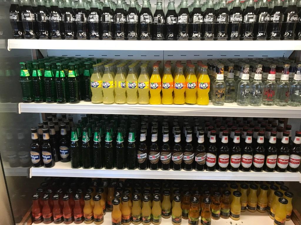 puerta de Alcala Madrid Lounge - Beverages