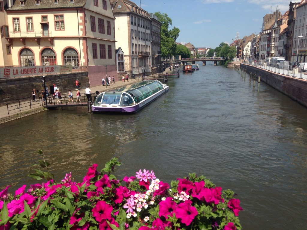 Strasbourg France - Boat Cruise