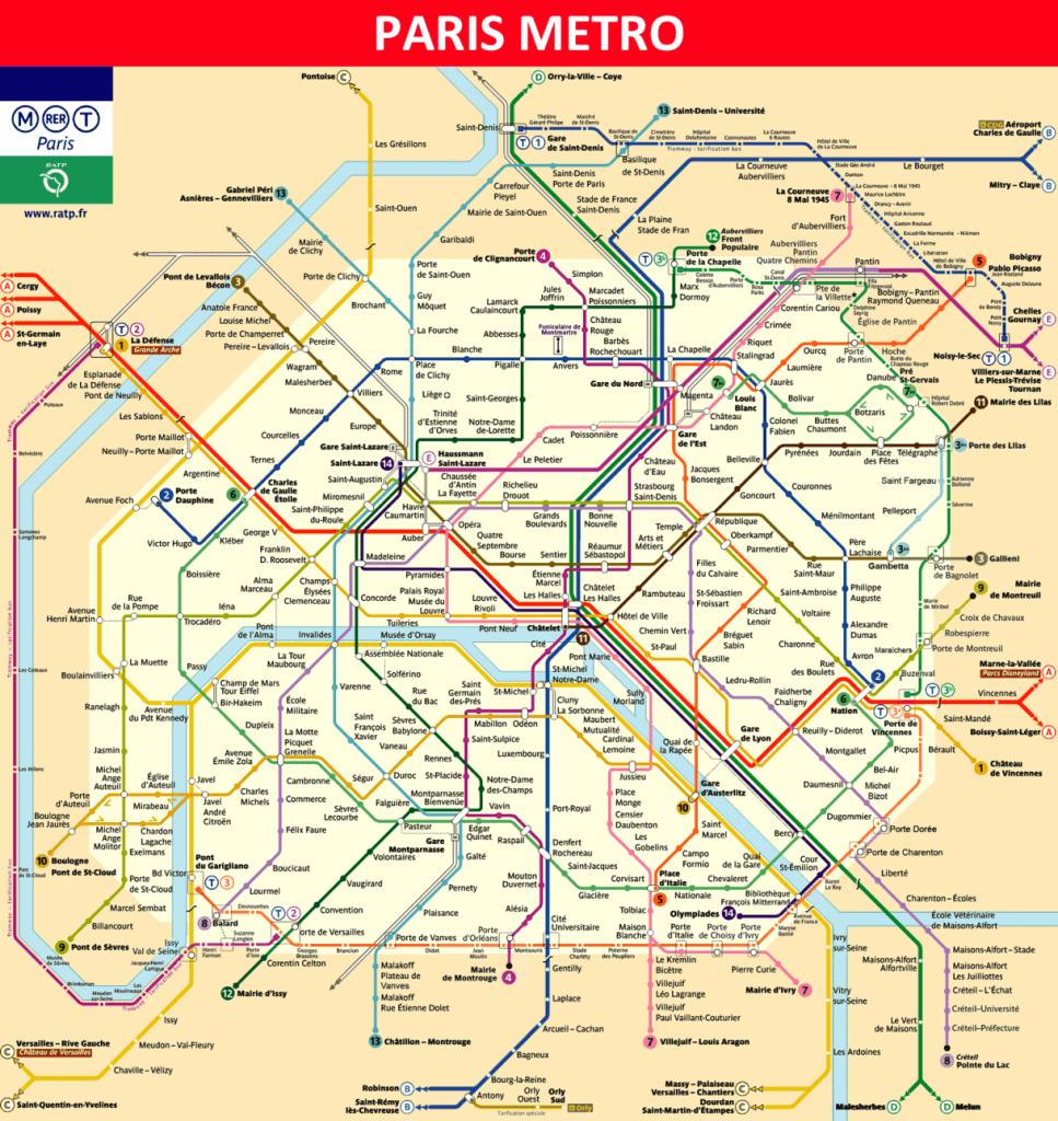 OrlyBus - Paris Metro
