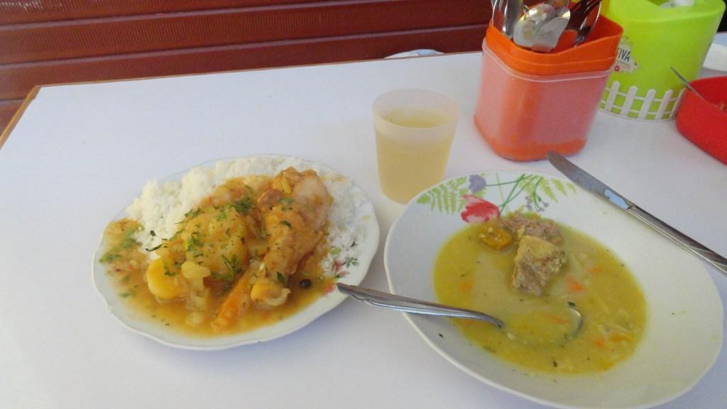 Food in Ollantaytambo