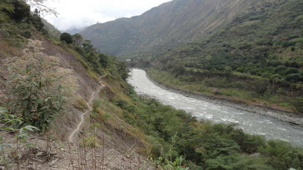 Hiking the Inca Trail - River