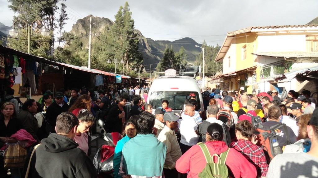 climb to Machu Picchu