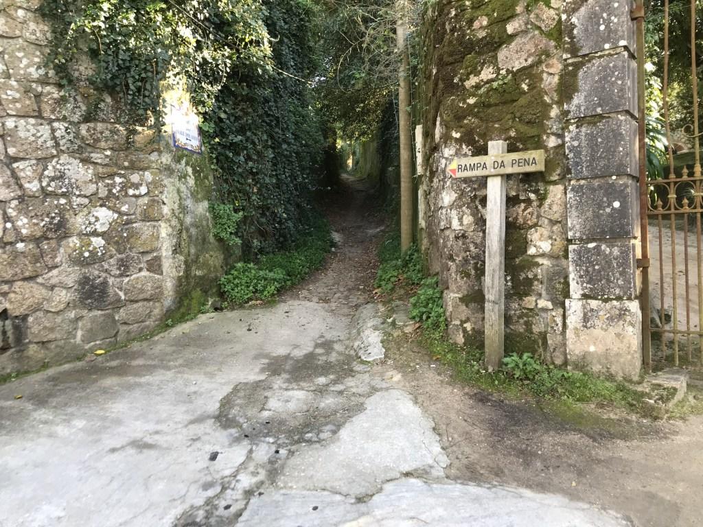 Hiking Sintra Castles - Rampa da Pena