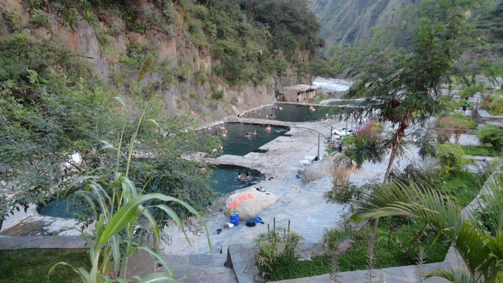 Hiking the Inca Trail - Hot Springs