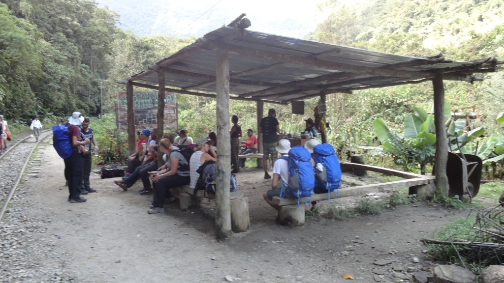 Hiking to Machu Picchu - Group