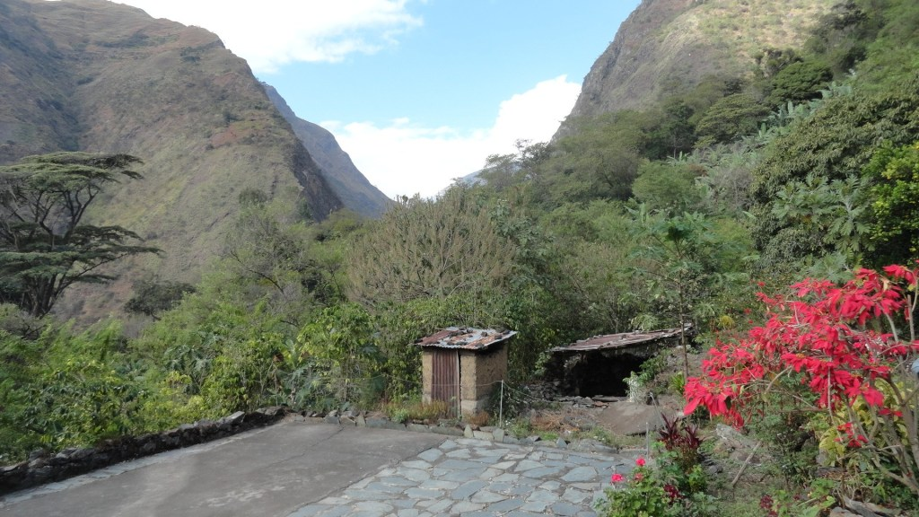 Hiking the Inca Trail - Climb