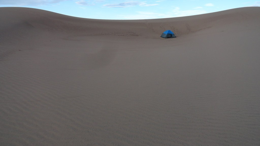 Camping Great Sand Dunes