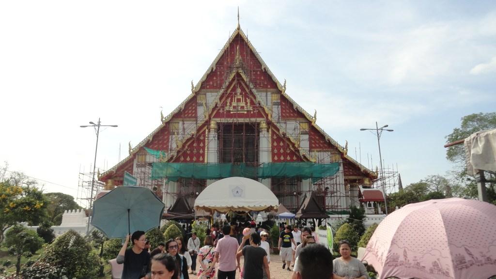 trip to Ayutthaya - Was Mongkhon Bophit