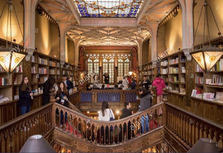 things to do in porto Portugal - Lello Bookstore