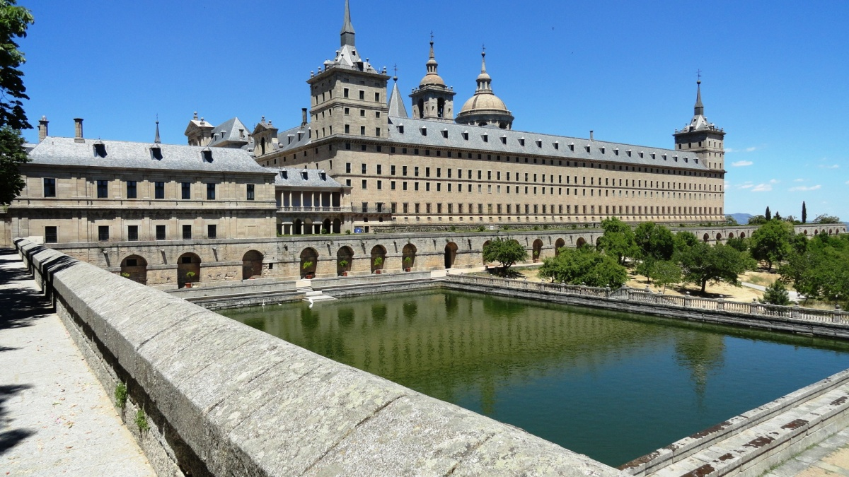 El Escorial Madrid Spain