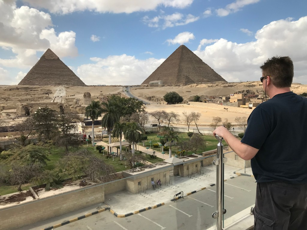 views from Giza