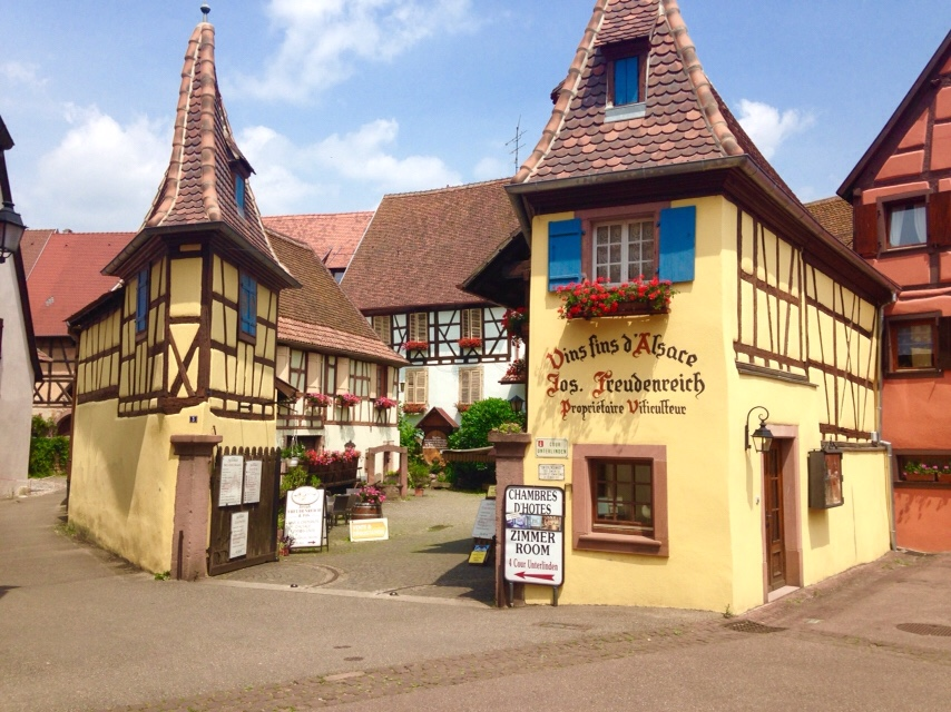 Eguisheim from Colmar