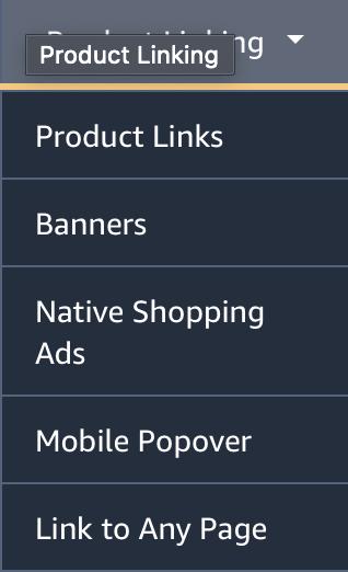 amazon mobile popover