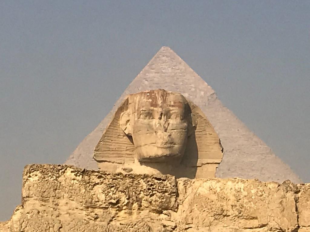 The Sphinx - Giza