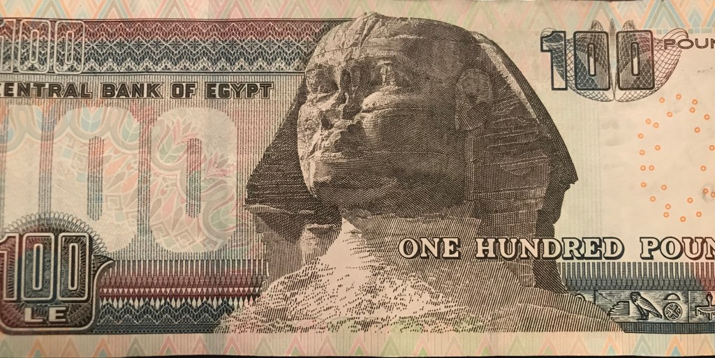 Count your change - Scams in Egypt